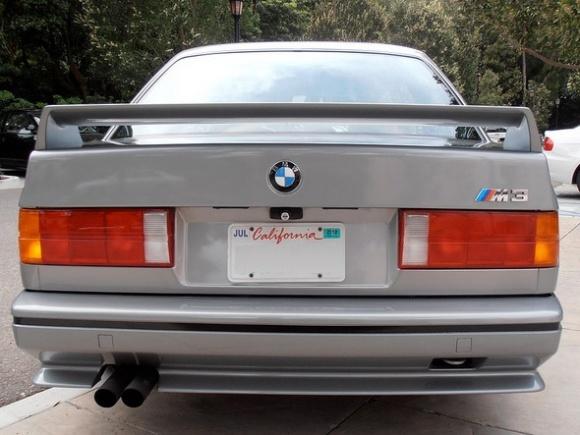 BMW E30 M3 Bumper Tape